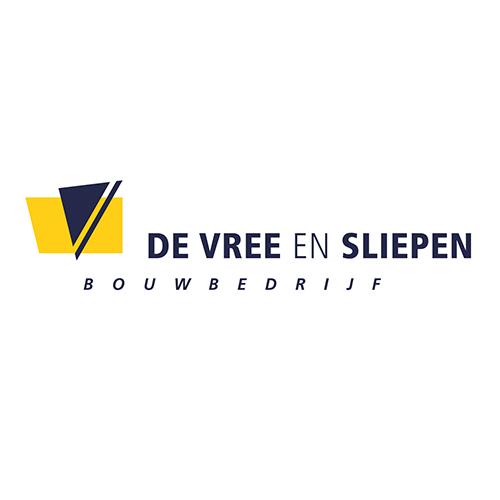 Logo De Vree en Sliepen bouwbedrijf